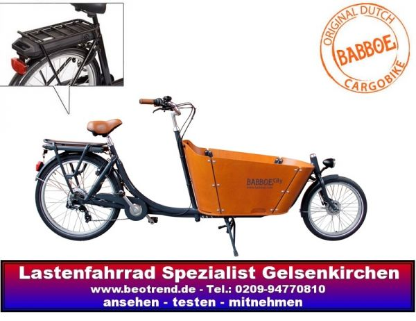 babboe city elektro lastenrad bakfiets ebay. Black Bedroom Furniture Sets. Home Design Ideas