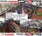Preview: KICKBIKE Cross MAX 20HD+ Racing Silver (Hydraulic)