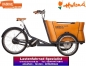 Preview: Babboe Curve Mountain Lastenrad 400Wh braun