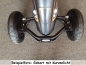 Preview: Gokart LED Kurvenlicht SPEZIAL 2xFront 1xRear PitchBlack DESIGN