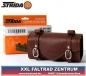 Preview: STRIDA Satteltasche Leder ST-SB-008 braun