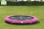 Mobile Preview: Trampolin EXIT Twist Ground 244 cm Rosa/Grau