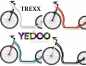 Preview: Yedoo Trexx Tretroller 26/20 Zoll 7.9kg rot