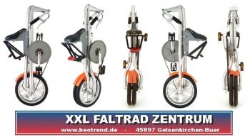 STRIDA LT 16Z Faltrad black