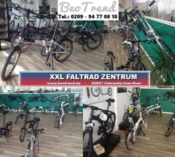 STRIDA EVO-18Z enlish dark green Faltrad 18Zoll 13kg