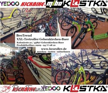 KICKBIKE Cross MAX 20HD+ Matt Black (Hydraulic)