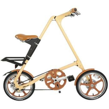 STRIDA LT 16Z Faltrad Cream