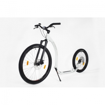 KICKBIKE Cross Fix Tretroller white DISC