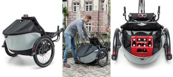 Hase Bikes Roller Rack mit BAG mini max. 100L
