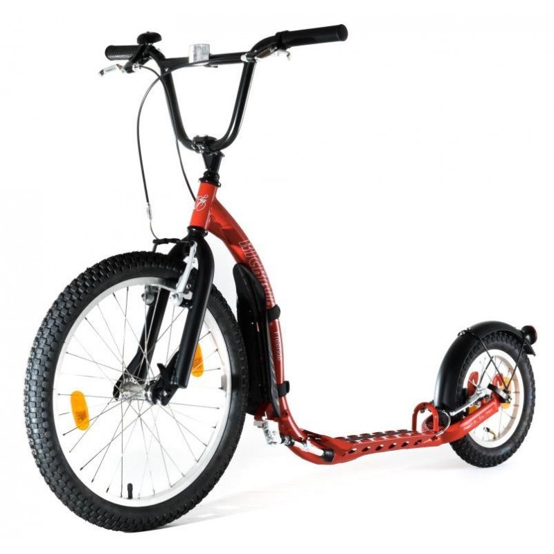 beotrend kickbike tretroller freeride 20 12 zoll rot. Black Bedroom Furniture Sets. Home Design Ideas