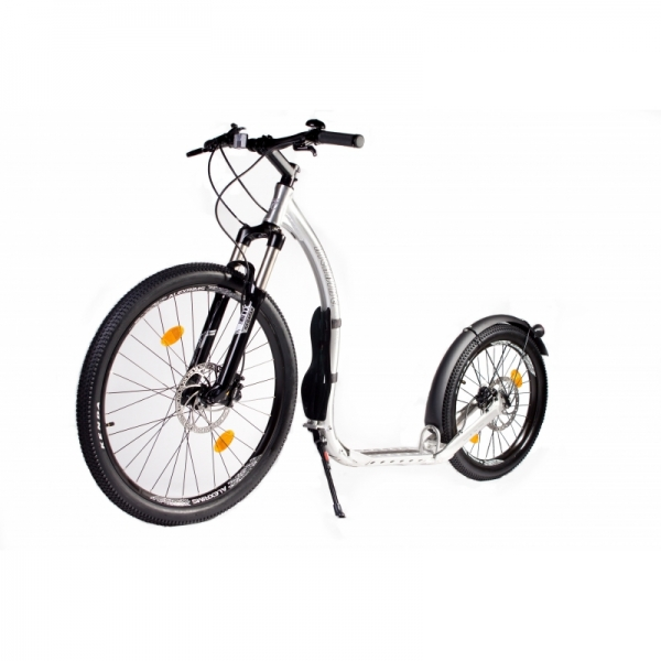KICKBIKE Cross MAX 20HD+ Racing Silver (Hydraulic)